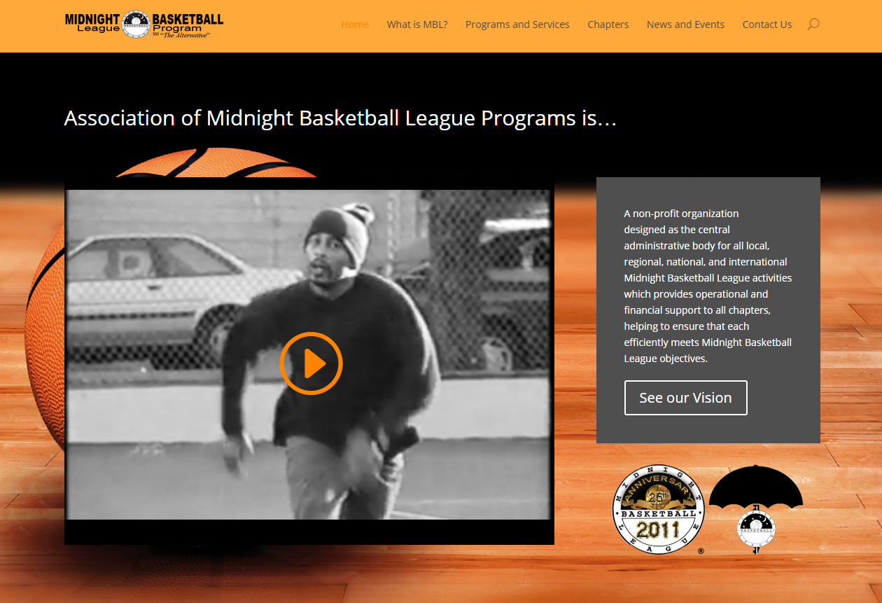 Association Midnight Basketball League Program