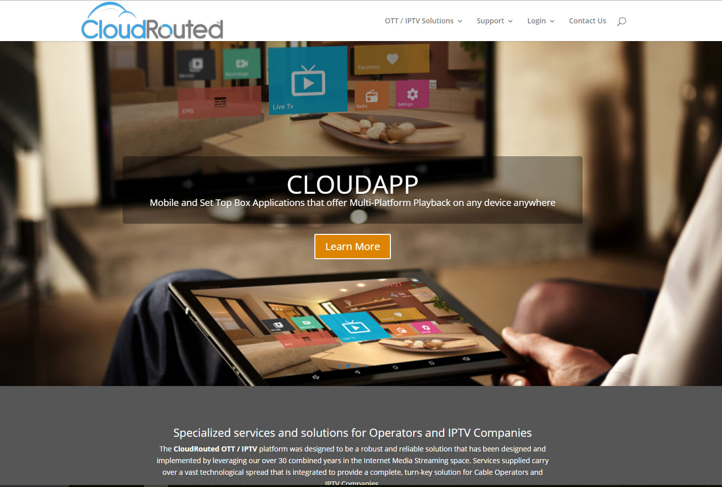 Cloud Routed Web Design