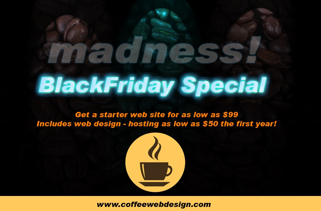 Black Friday Specials 2014