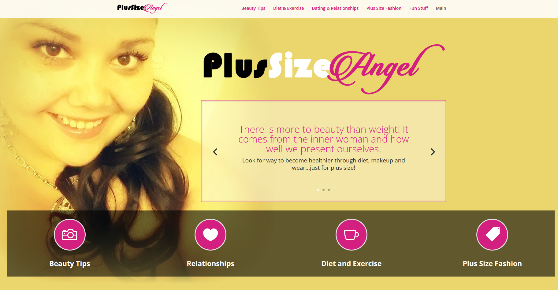 Plus Size Angel
