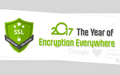 2017 The Year of Encryption Everywhere using SSL certificates – Time to get ready!
